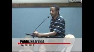 Huntsville City Council 7.10.14