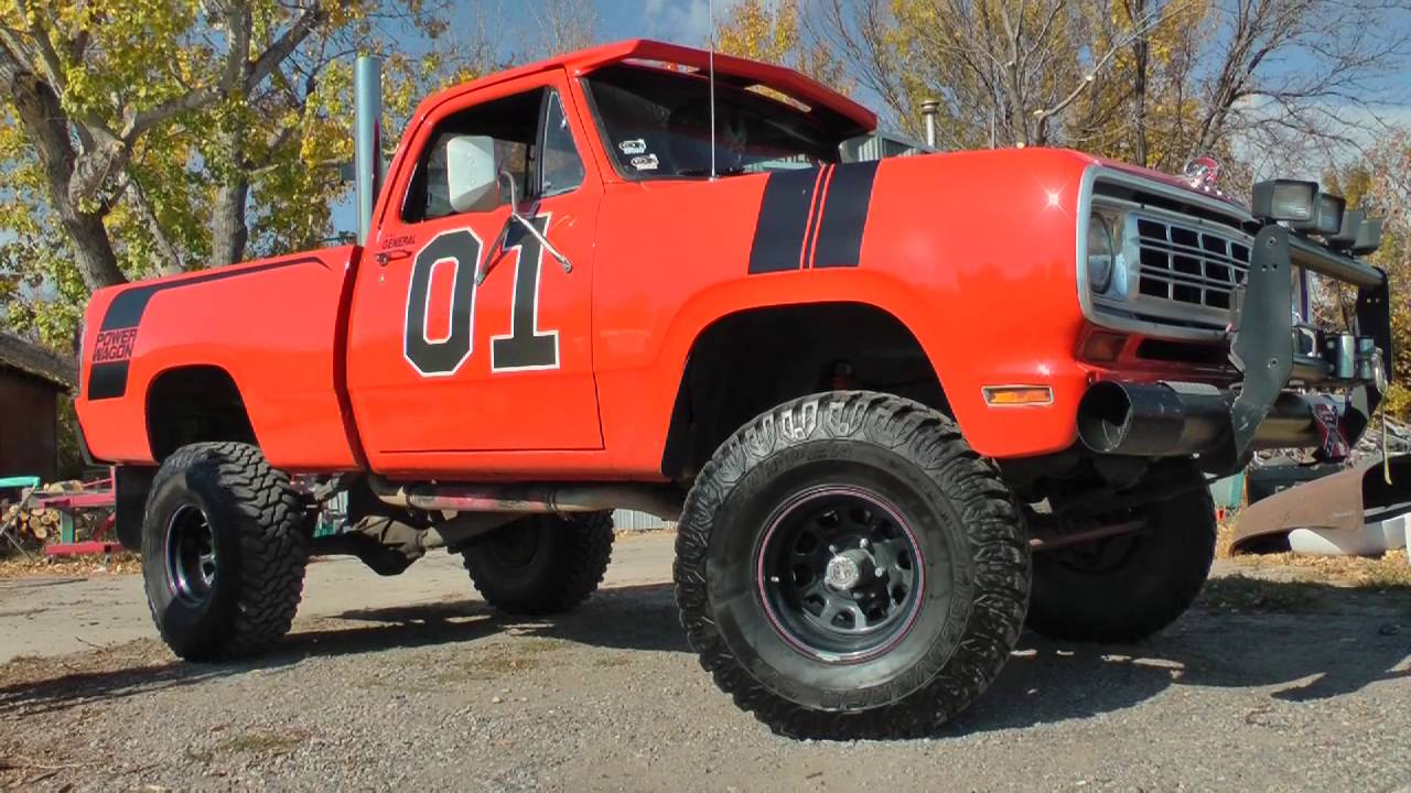 Pure Muscle - 'the General' 1976 Dodge Power Wagon - YouTube