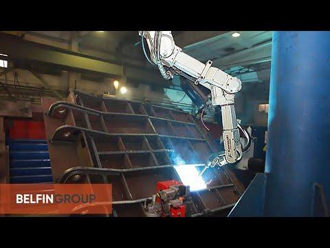видео: Промышленный робот в составе РТК сварки