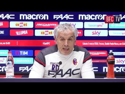 #SpalBFC: la conferenza pre partita di Donadoni