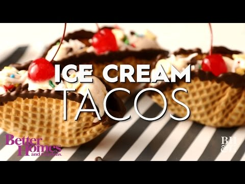 Ice Cream Tacos | Dessert Recipe | Better Homes & Gardens