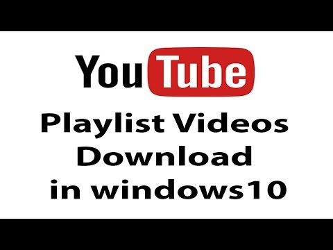 how-to-youtube-playlist-downloader