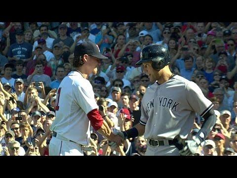 NYY@BOS: Jeter talks to Buchholz after last atbat