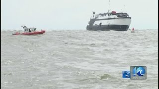 Casino boat runs aground in Georgia