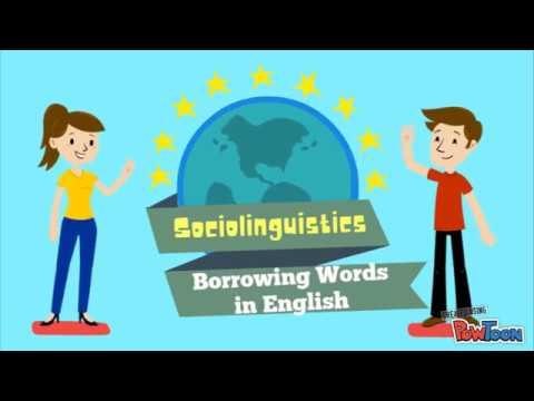 Borrowing Words _ Sociolinguistic