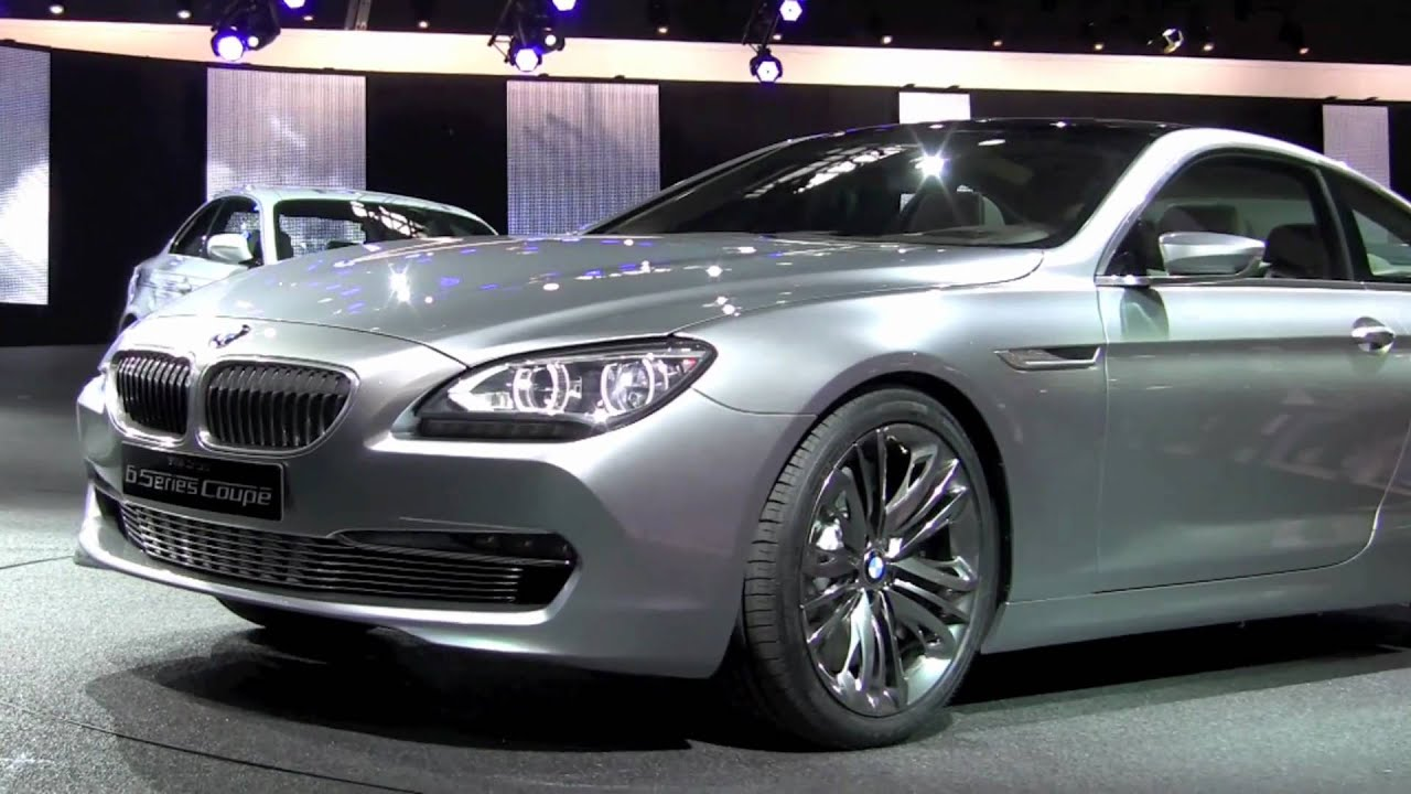 BMW 6 Series Coupe Concept World Debut at 2010 Paris Motor Show ...