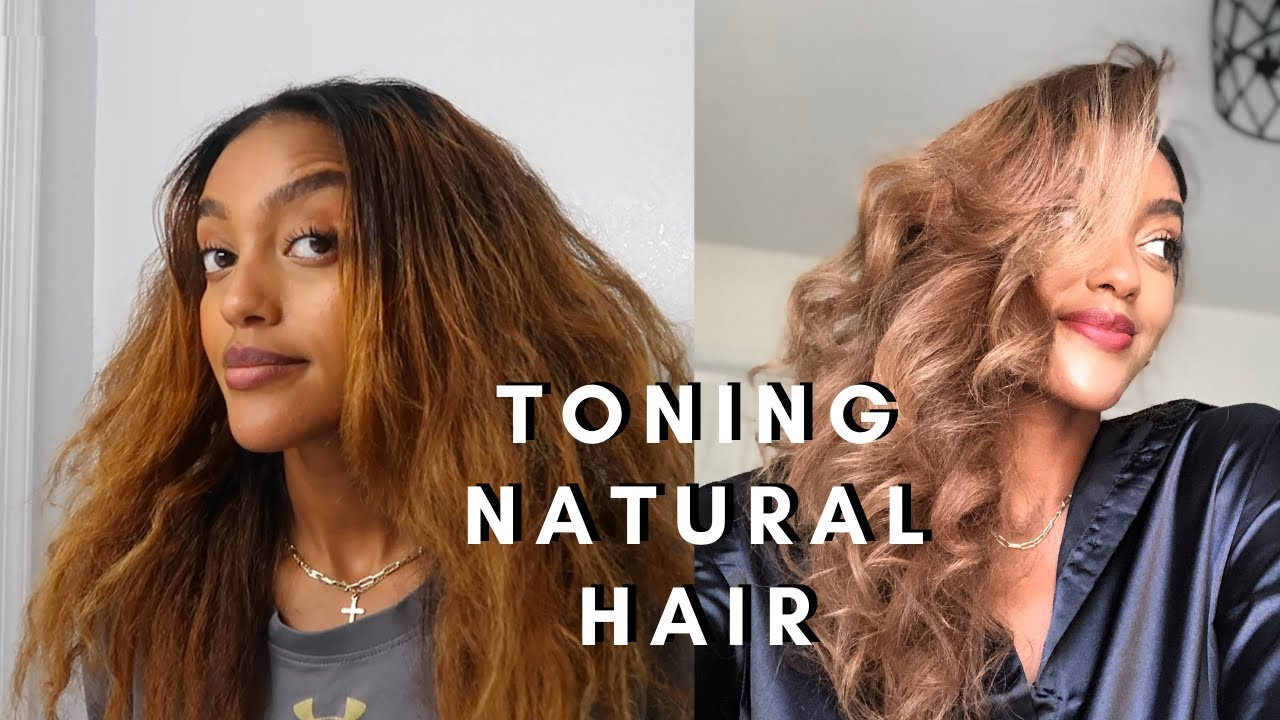 HOW TO: Highlight and Tone natural hair with minimal damage   ft. Insert Name Here Hair review
