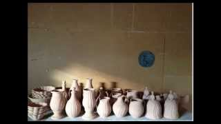 Art of pottery(安部太一)-The sun peeped through the clouds