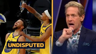 """Skip Bayless reacts to Steph Curry drops 62 Pts is """"in the hunt for his 3rd MVP award"""""""