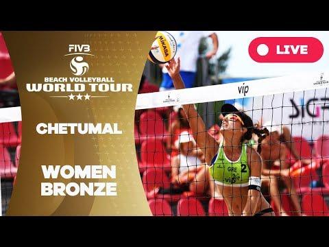 Chetumal 3-Star - 2018 FIVB Beach Volleyball World Tour - Women Bronze Medal Match