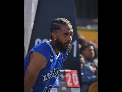 Nipsey Hussle Team VS. Lil Pump Team Takes A Lost In Basketball 🏀🏁