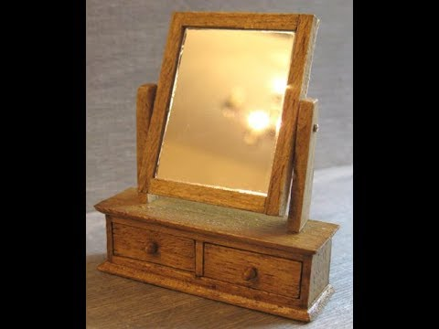 1/12th Scale Mirror with Drawers Tutorial