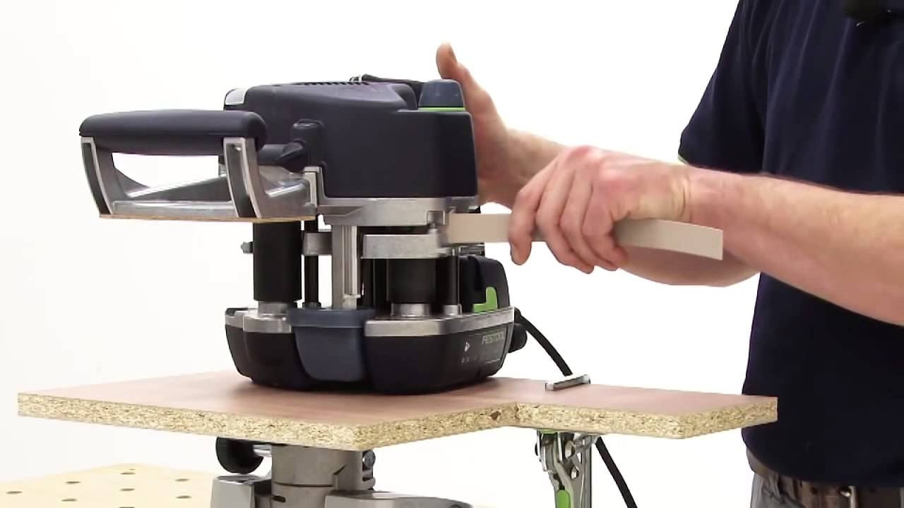 Portable Edge Banding Machine by Festool  youtube@caple in The best German  edge bander in India