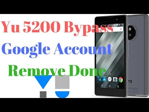 Yu Yureka 5200 Bypass FRP Lock Remove Done  – UNLOCK MOBILE