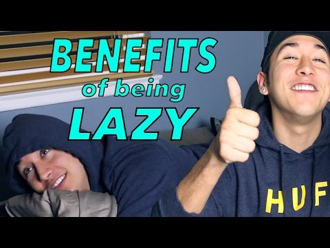 BENEFITS OF BEING LAZY | Brennen Taylor