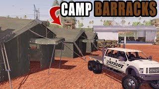 MILITARY BARRACKS! | EXPANDING THE BASE | NEW MODS | FARMING SIMULATOR 2019
