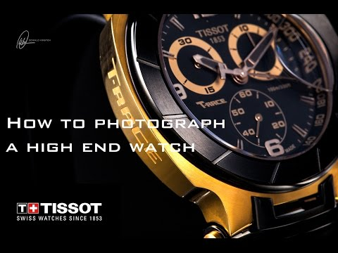 How to photograph a high end watch