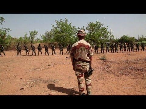EU troops train Malian soldiers
