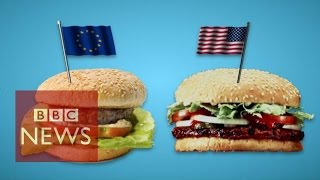 TTIP: What the US-EU trade deal means for your food - BBC News