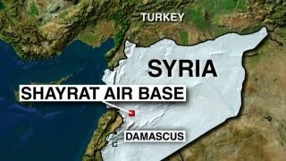 Pentagon confirms chemical weapons activity at Syria airbase