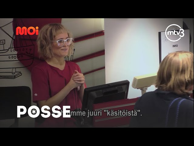 SÄTKYAKKA - SANNI | POSSE4 | MTV3