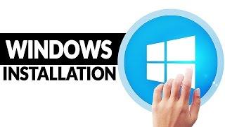 Windows 10 installieren und einrichten - mit USB, Key, CD!