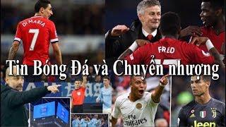Tin bóng đá | Chuyển nhượng | 21/02/2019 | MU giữ Rashford,Mbappe vượt mặt Ronaldo,Juventus thua 0-2