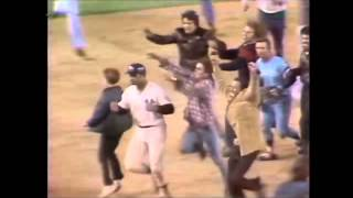 Chris Chambliss hits HR in game 5 of 1976 ALCS to send Yankees to the World Series.