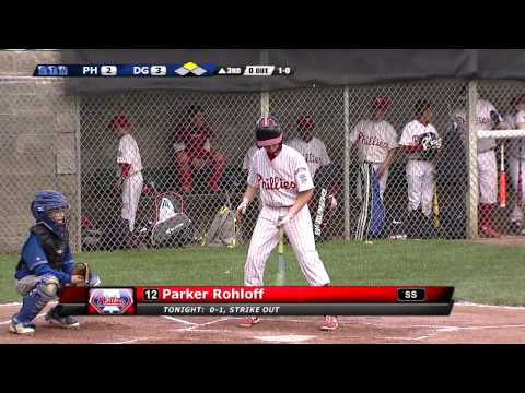 Coon Rapids Little League: Majors Championship 2015 Game 1 (Full Game)