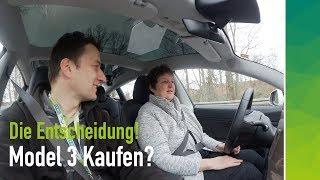 Renate & Regina (60+) testen Tesla Model 3: Kauf oder Storno?
