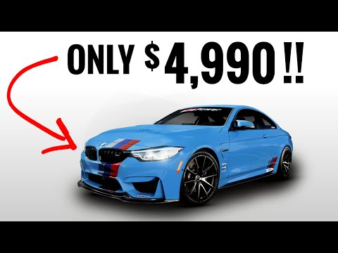 TOP 10 CHEAP Fast Cars Under $5,000!!