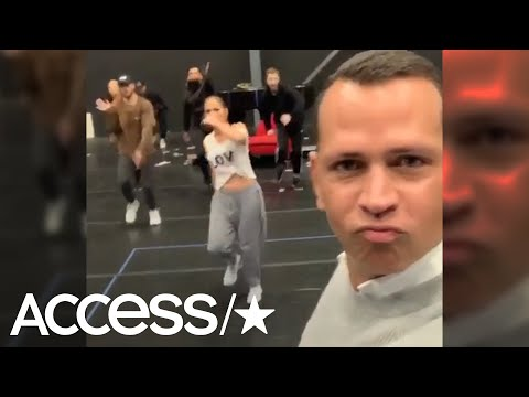 Alex Rodriguez Crashes JLo's Rehearsal & Wows With Epic Dad-Dance Moves! | Access Mp3