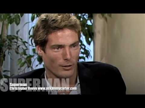 Christopher Reeve: Superman interview with Jimmy Carter