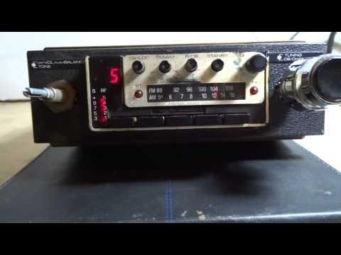 ANTIQUE CB RADIO AM 40 CHANNELS (AM/FM RECEIVER)