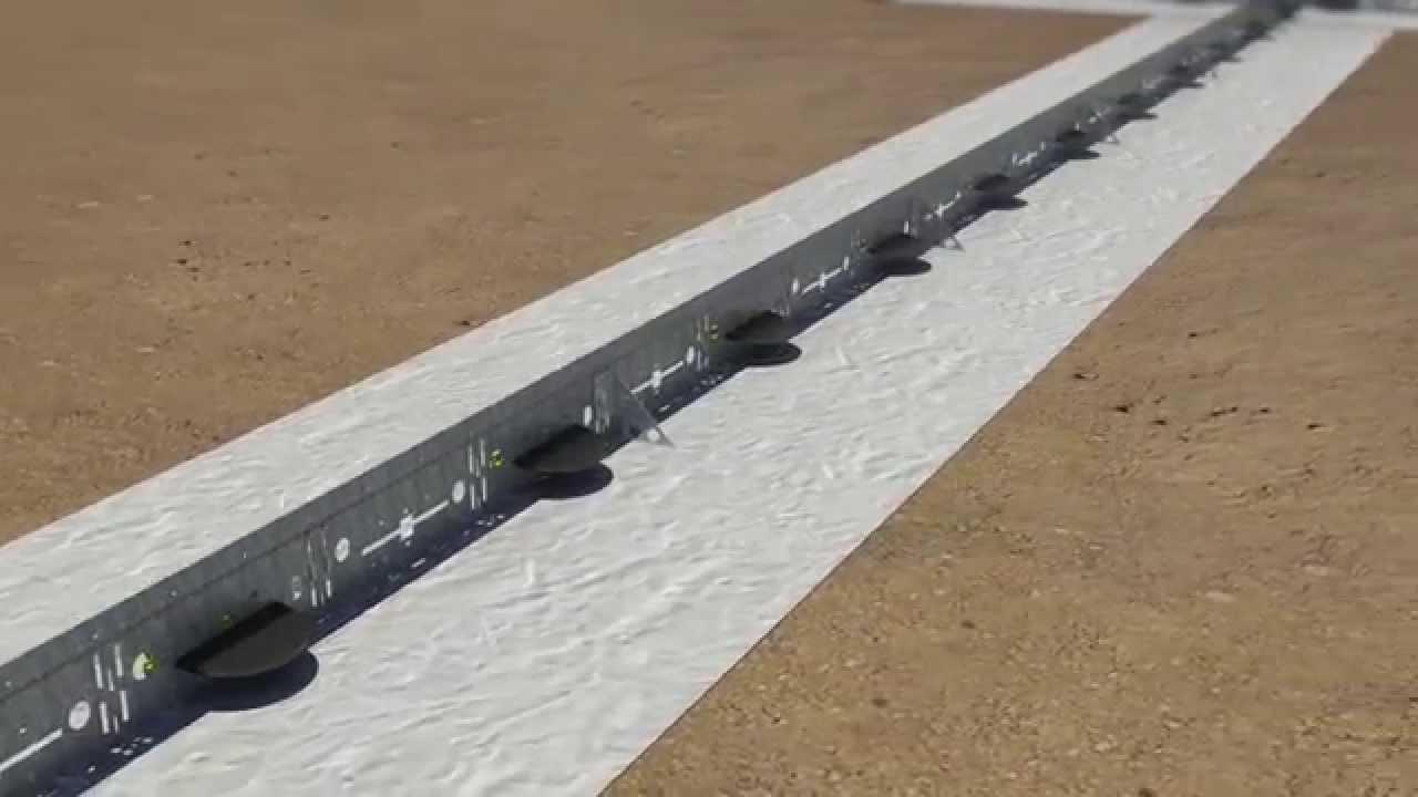 Uniform Screed Rail Youtube