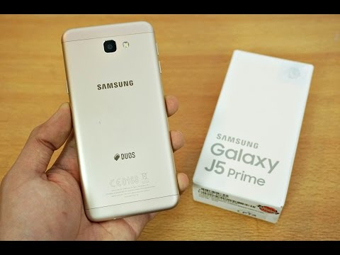 Samsung Galaxy J5 Prime - Unboxing & First Look! (4K)