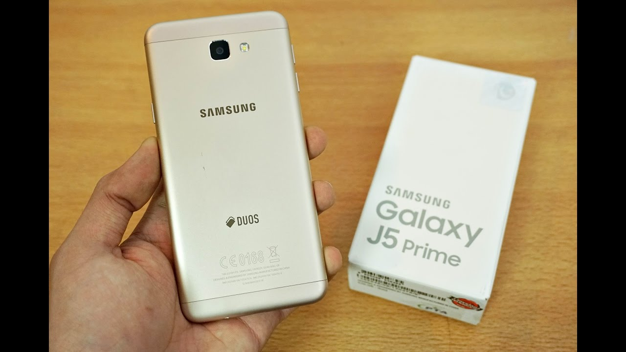 Samsung Galaxy J5 Prime Unboxing First Look 4k Youtube