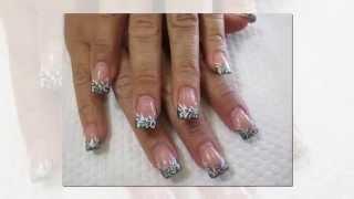 Дизайн Ногтей Акриловыми Красками Видео. Акриловые ногти.