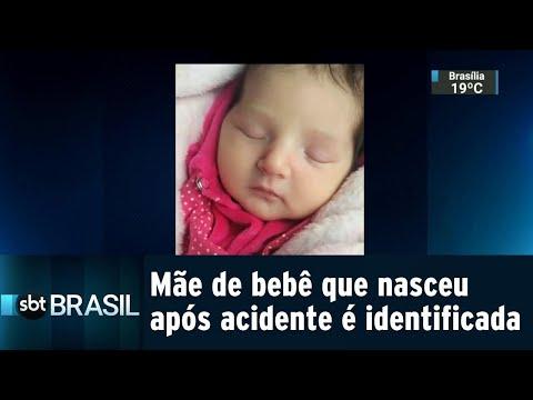 Mãe de bebê que sobreviveu a acidente é velada no dia do próprio aniversário | SBT Brasil (30/07/18)