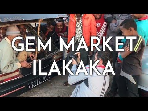 Gem Market Ilakaka, Madagascar