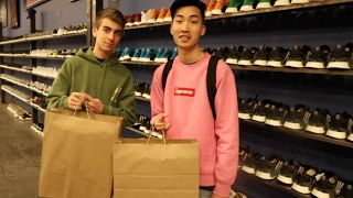 SNEAKER SHOPPING WITH RICEGUM!!!!