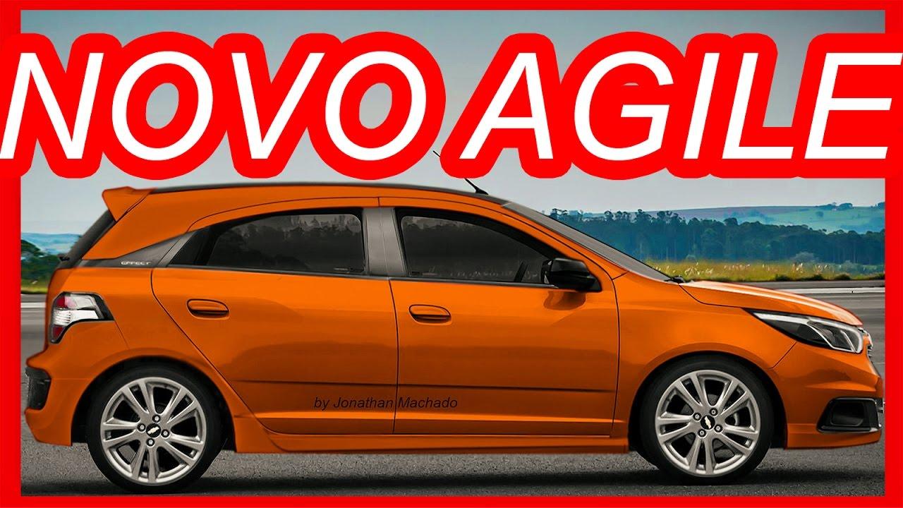 PHOTOSHOP Novo #Chevrolet Agile 2018 @ Cobalt Hatchback ...