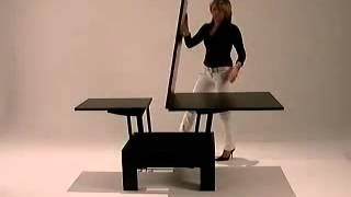 Mas Coffee Table / Dining Table Space Saving Furniture.flv