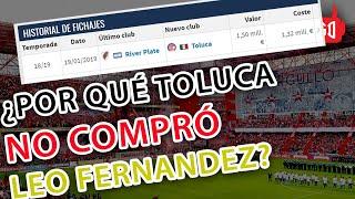 POR ESTA RAZÓN TOLUCA FC NO ES DUEÑO DE LEONARDO FERNÁNDEZ PERO SI DE RIGONATO