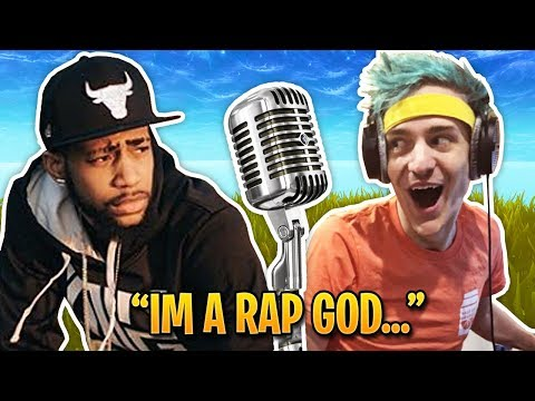 When Fortnite Streamers Become Rap Gods