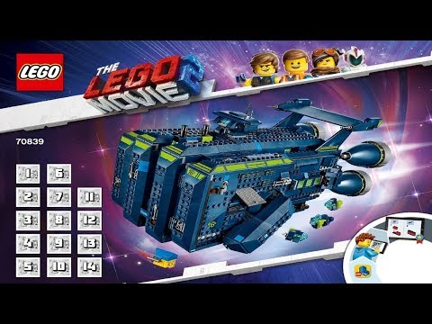 LEGO instructions - The Lego Movie 2 - 70839 - The Rexcelsior!