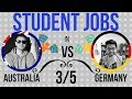Student Jobs in Australia vs Germany: Monthly Income, Minimum Wage (3/5)