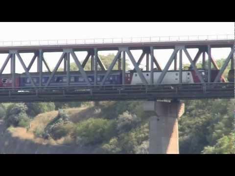 Trains near the Danube-Black Sea Canal,2011.08.17.part1..avi