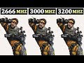 R5 2600 | GTX 1660TI | 2666Mhz vs 3000Mhz vs 3200Mhz | Tested 15 Games |