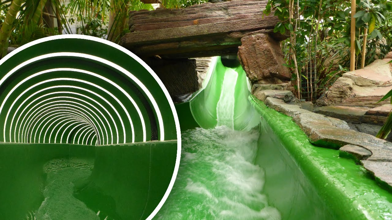 Center Parcs Zandvoort Zwembad.Center Parcs Zandvoort Waterglijbaan 60m Tunnelrutsche